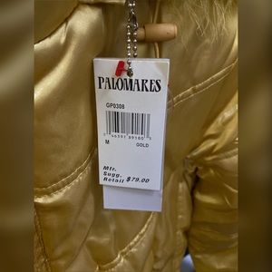 Palomares Jackets & Coats - Winter Jacket with Fur Hoodie (GOLD)